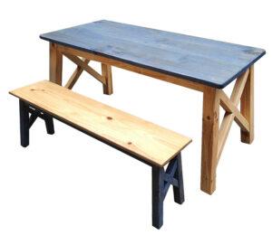 交叉腳餐桌56