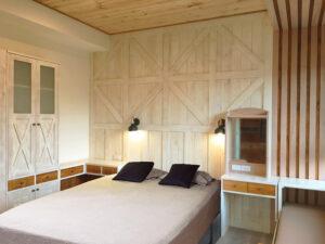 北歐風實木牆26