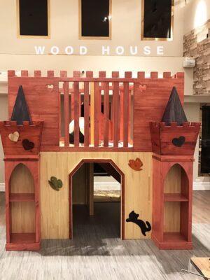 原木工坊城堡屋
