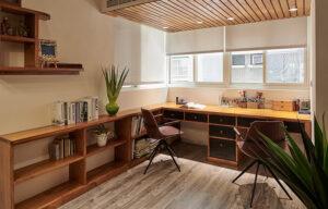 原木書桌45