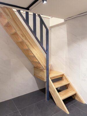 原木樓梯38
