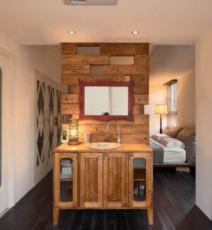 原木浴櫃18
