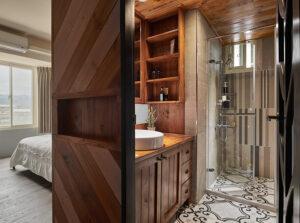 原木浴櫃35
