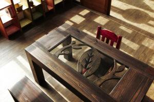 原木餐桌35