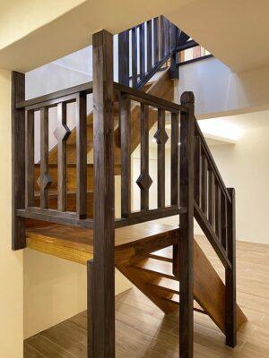 實木樓梯36