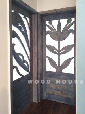 實木造型門144