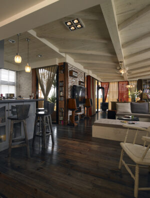 木造型天花板37