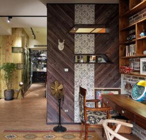 木造型牆22