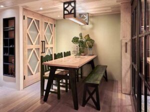 歐式實木餐桌52