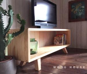 簡約實木電視櫃87