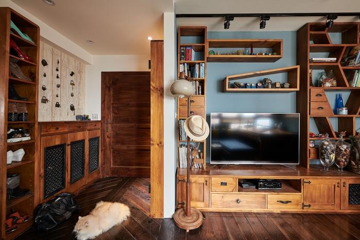 實木電視櫃