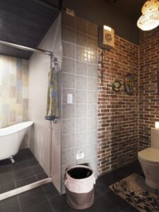 loft工業風浴室