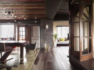 loft工業風原木