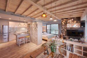 原木工坊天花板