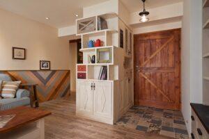實木玄關櫃