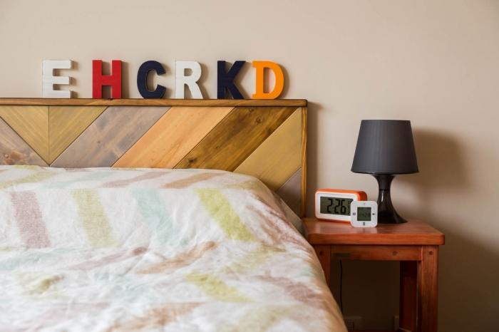 實木床頭板