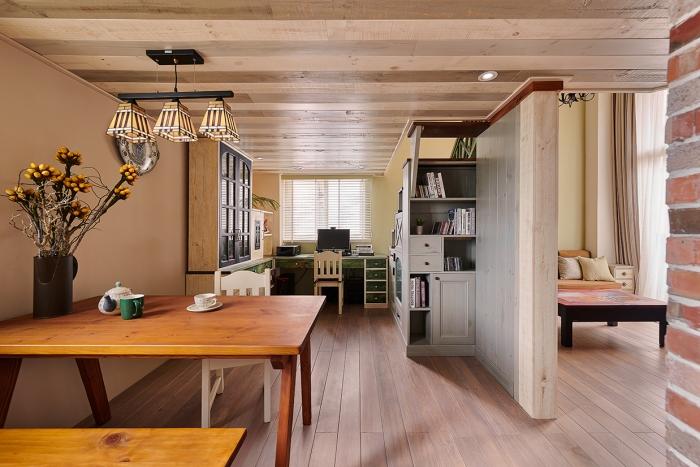 實木天花板