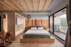 原木工坊雙人床