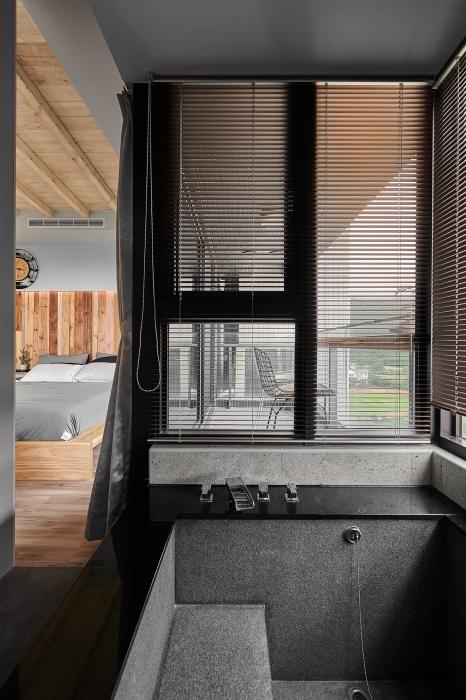原木工坊浴室