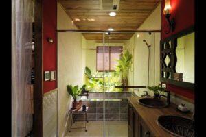 鄉村風浴室
