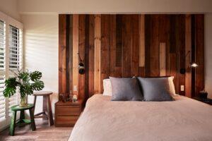 實木造型牆