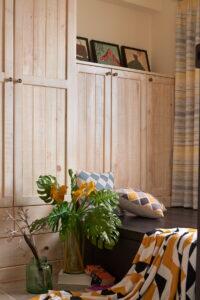 原木收納櫃