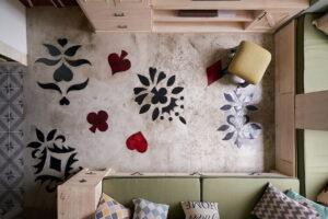 原木木花地板