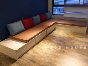 L型矮櫃式沙發22