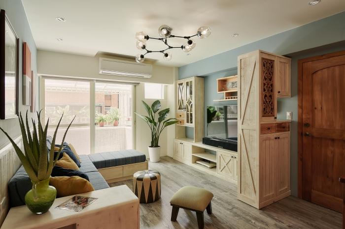 原木客廳設計
