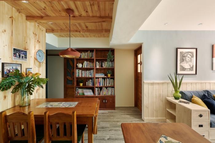 原木餐廳設計