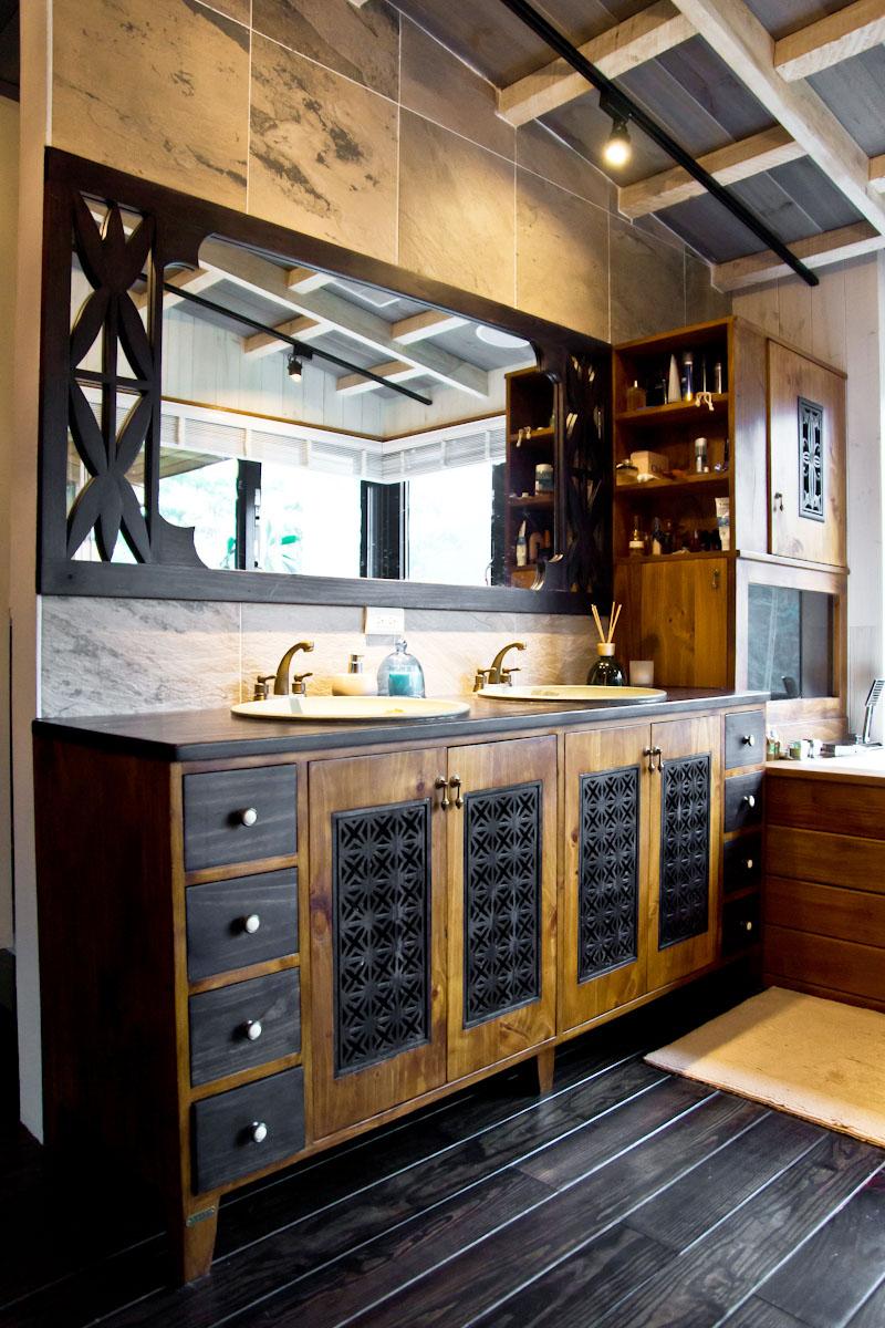 原木工坊洗手台