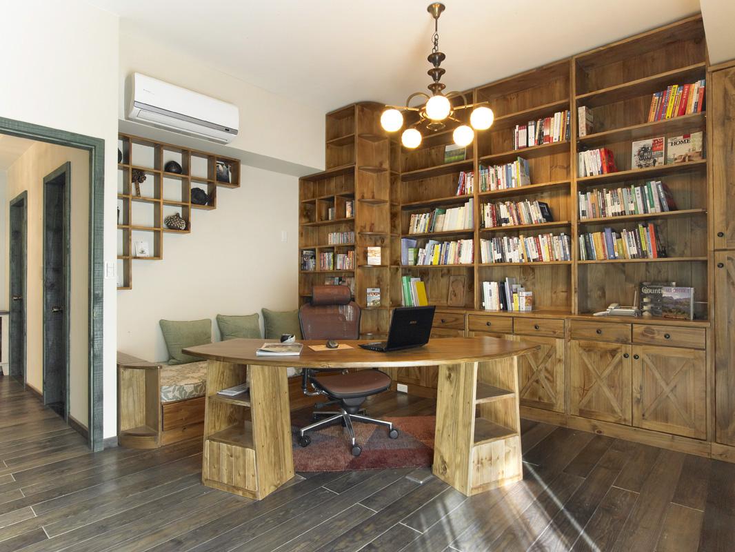 歐風書房設計