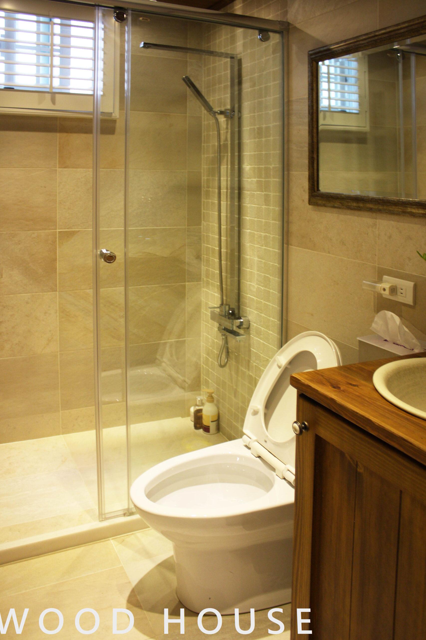 簡約浴室設計