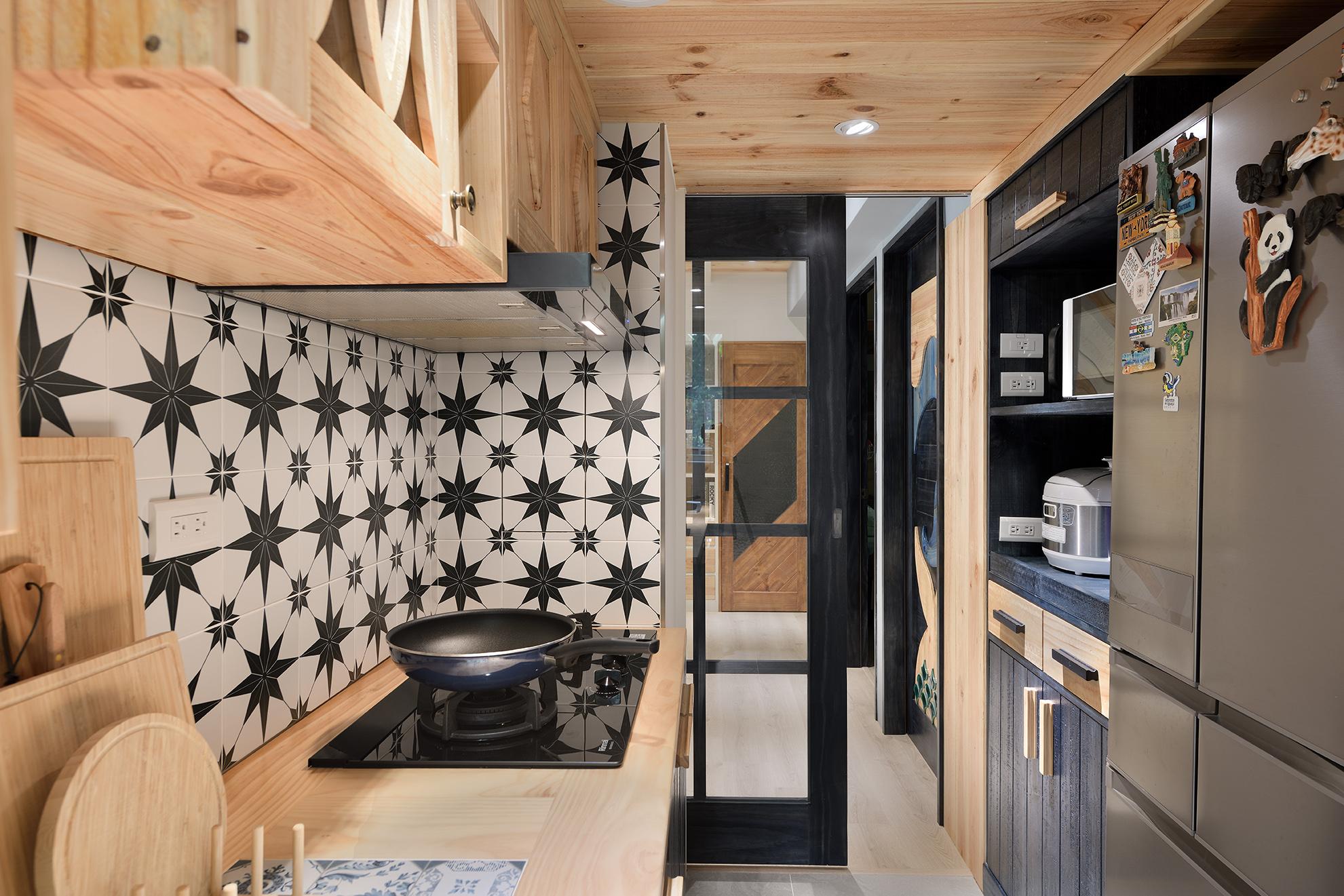 原木工坊廚房設計