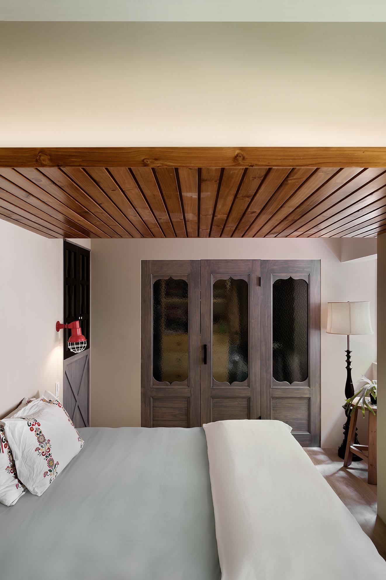 鄉村風臥室設計