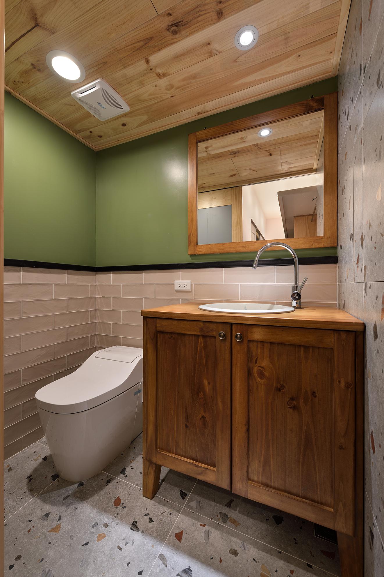 鄉村風衛浴設計